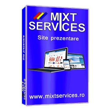 Create a professional presentation web site